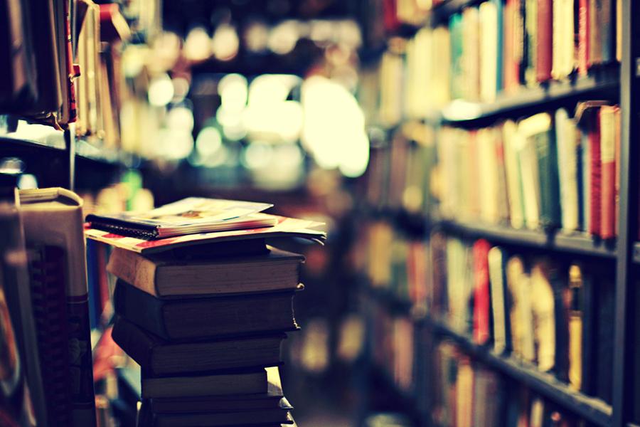 Bookshop Bokeh